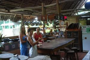 Nina and the Kitchen staff