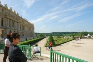 Candace at Versailles