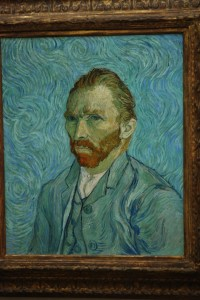 Vincent at Musee d'Orsay