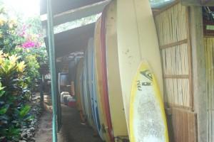 Board Row at Tierra